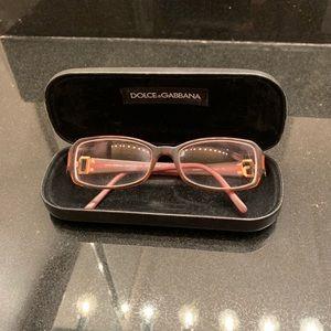 Dolce & Gabbana brown eyeglasses
